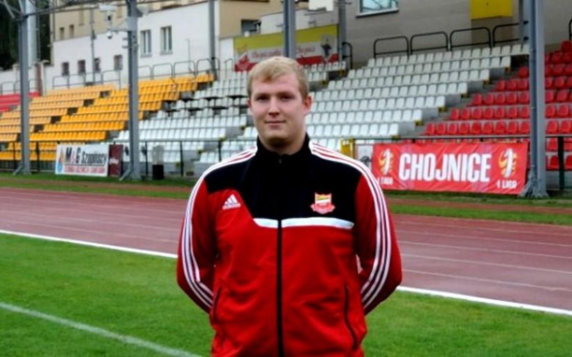 Michał Jagiełka w barwach Chojniczanki
