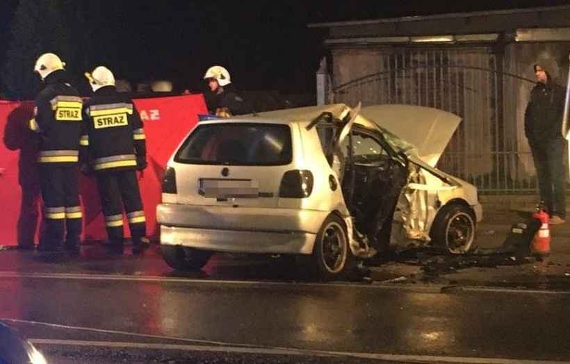 Tragedia na drodze w Wieprzu. Nie żyje nastoletnia ofiara wypadku