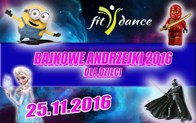 Bajkowe Andrzejki dla dzieci w Fitdance!