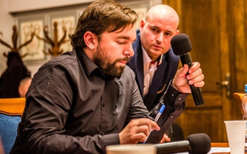 Mateusz Klinowski, członek rady nadzorczej EKO i wiceprezes tej spółki Paweł Koper