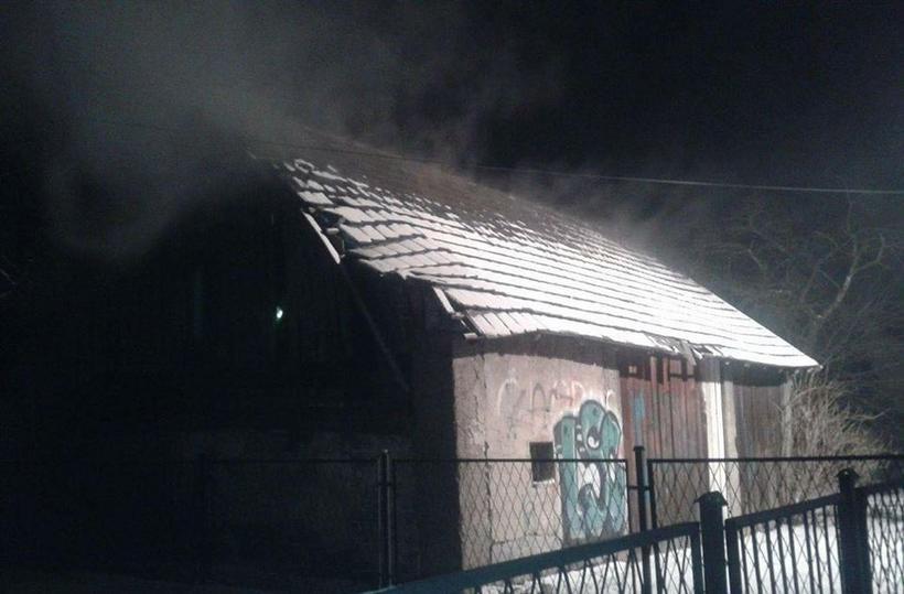 Ktoś podpalił stodołę w Łączanach?
