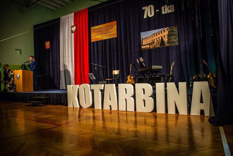 Kotarbina ma już 70 lat. Tak szkoła świętowała jubileusz