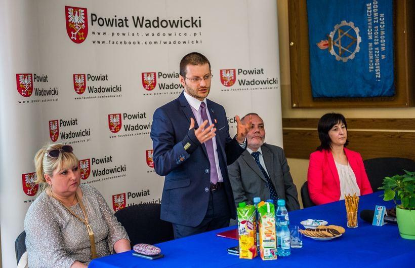 Mamy szansę stać się liderem w kształceniu zawodowych uczniów – mówił starosta Bartosz Kaliński