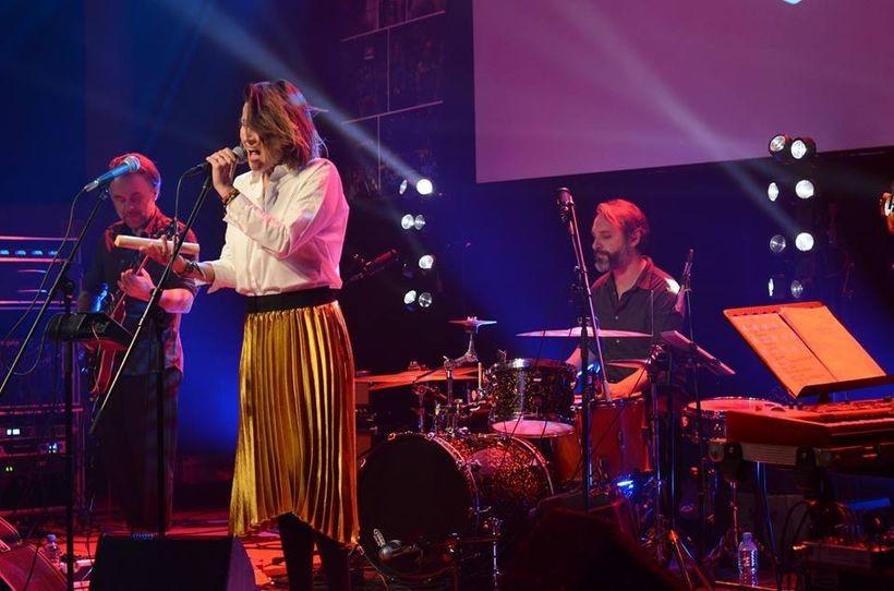Muzycznym upominkiem dla wszystkich mecenasów był koncert zespołu Bisquit