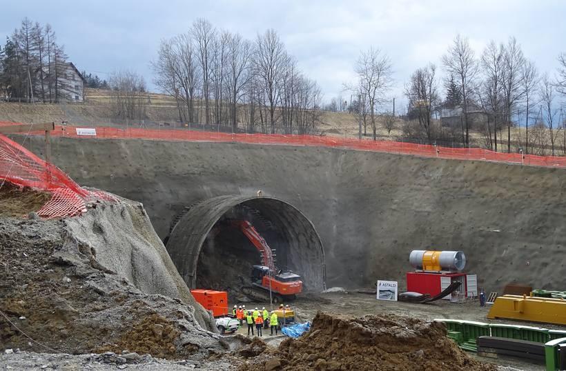 Najdłuższy tunel w kraju powstanie całkiem niedaleko. Tuż przy węźle Wadowice