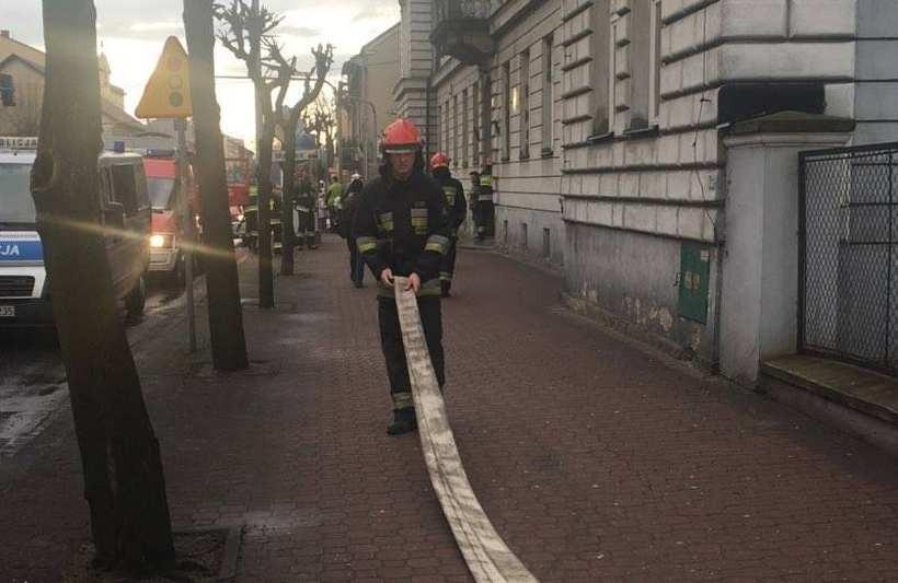 Pożar kotłowni w Muchomorku. Ewakuowano dzieci i personel
