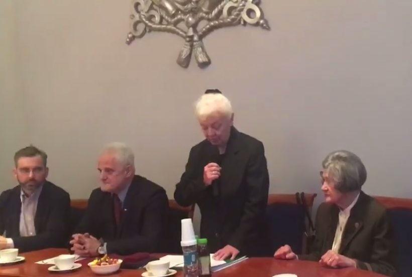Maria Nieć-Cedrowska po prawej