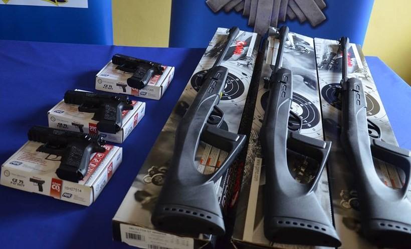 Na strzelnicy uczniowie mechanika będa teraz się uczyć posługiwania się bronią