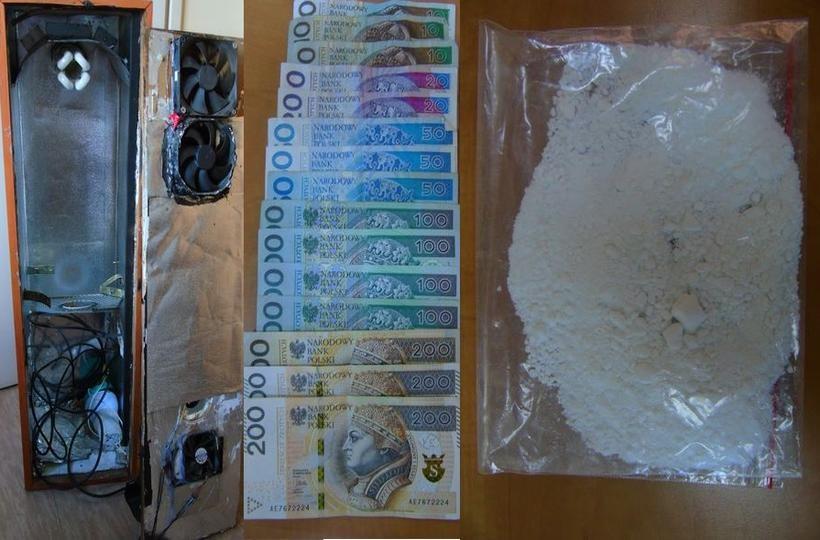 Andrychowski gang narkotykowy rozbity. Policja stawia 560 zarzutów, a to nie koniec sprawy!