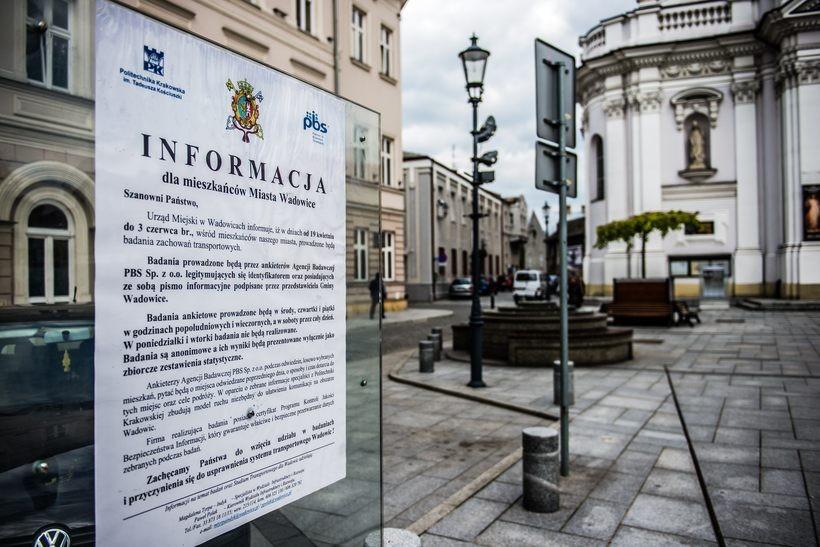 Urząd Miasta w Wadowicach wynajął ankieterów, którzy odzwiedzą mieszkańców. O co będą pytać?