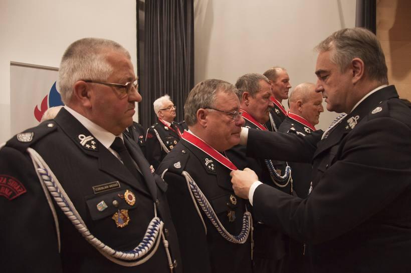 Ponad czterdzieści lat na służbie w OSP! Druh z Kleczy uhonorowany ważnym odznaczeniem