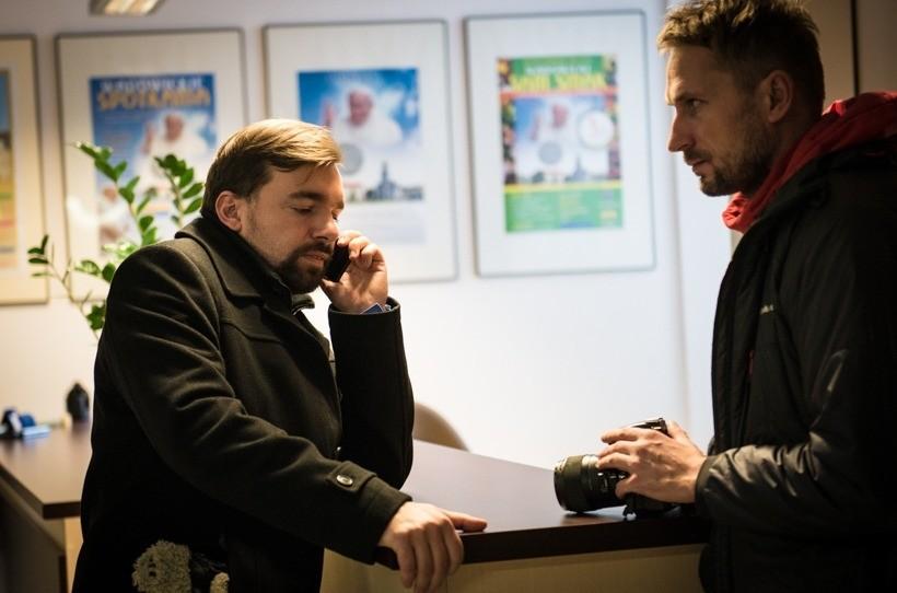 Mateusz Klinowski i Janusz Gawron