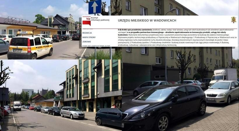 Ulica Poprzeczna w Wadowicach ma być dwukierunkowa