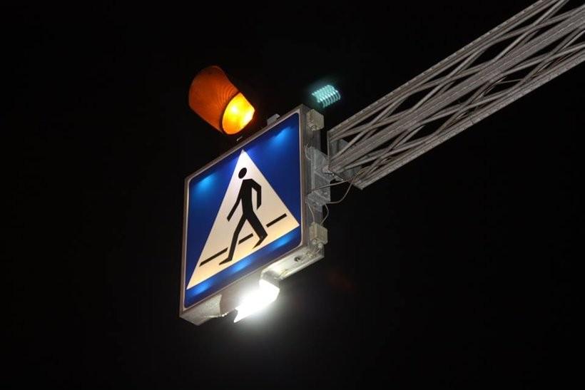 Nad przejściem dla pieszych w Barwałdzie znowu działa światło