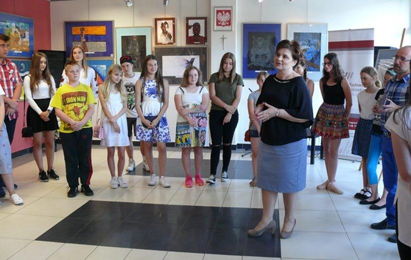 Młdozi artyści ze szkoły w Wadowicach poczuli się docenieni