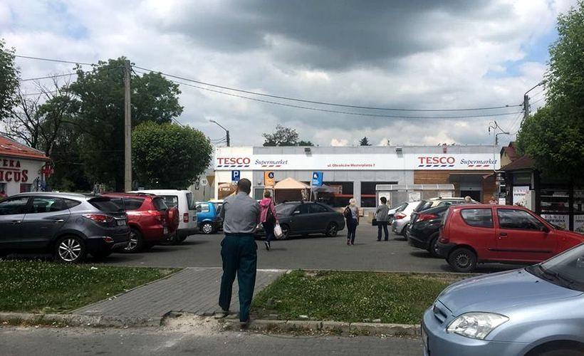Do zdarzenia doszło na parkingu pod Tesco