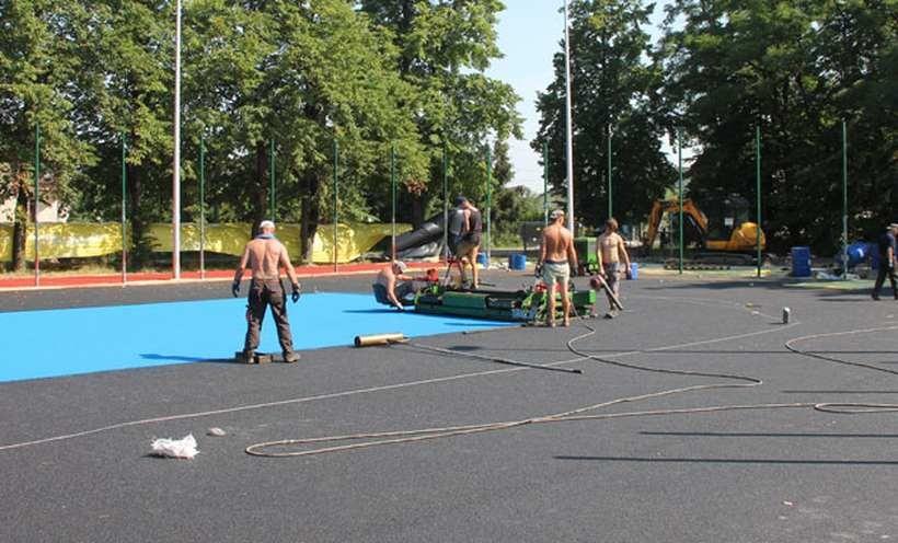 Nowe boisko w Sułkowicach Łęgu