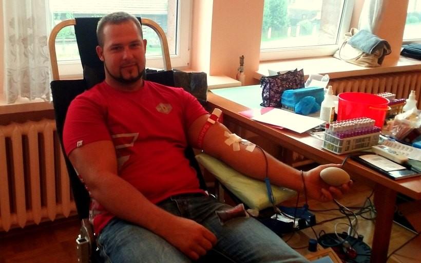To już kolejna w tym roku akcja krwiodawstwa w Izdebniku