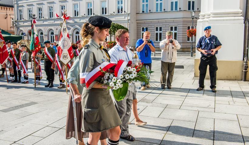 Obchody rocznicy Powstania Warszawskiego i bitwy pod Leszniowem w Wadowicach