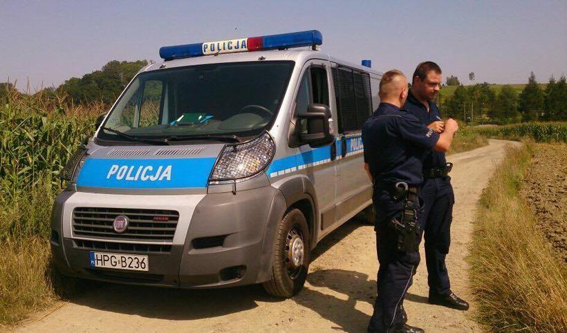 Nad Skawą w Witanowicach znaleziono nabój