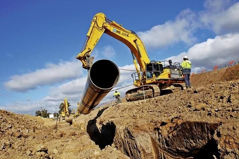 Budowa sieci kanalizacyjnej