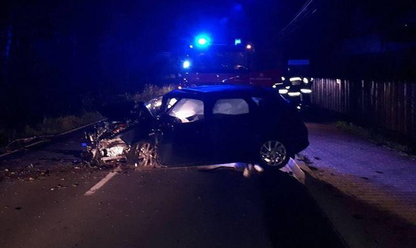 Poważny wypadek w Targanicach