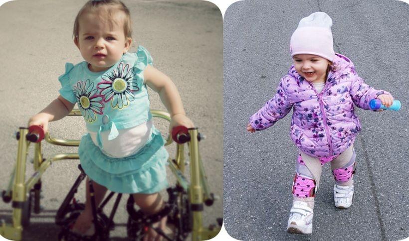Lenka Cholewa niebawem skończy 3 latka