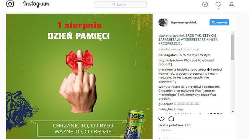 Wygląda na to, że zamieszanie wokó tej reklamy pomogło sprzedaży napoju energetycznego