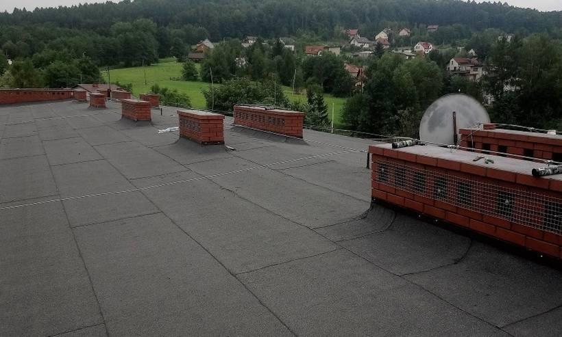 Remont na dachu Mechanika