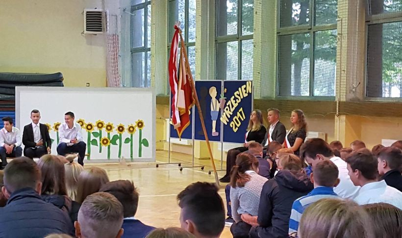 Rozpoczęcie roku szkolnego w Szkole Podstawowej nr 5 w Wadowicach