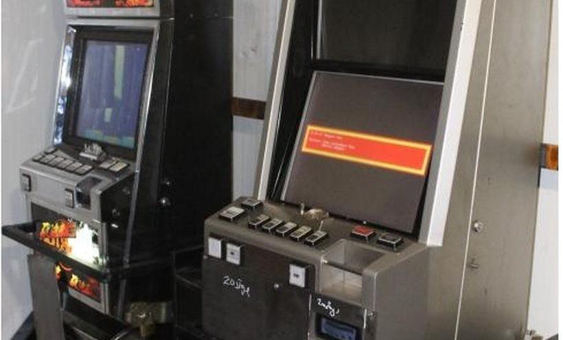 Policja aresztowała 6 maszyn do gier