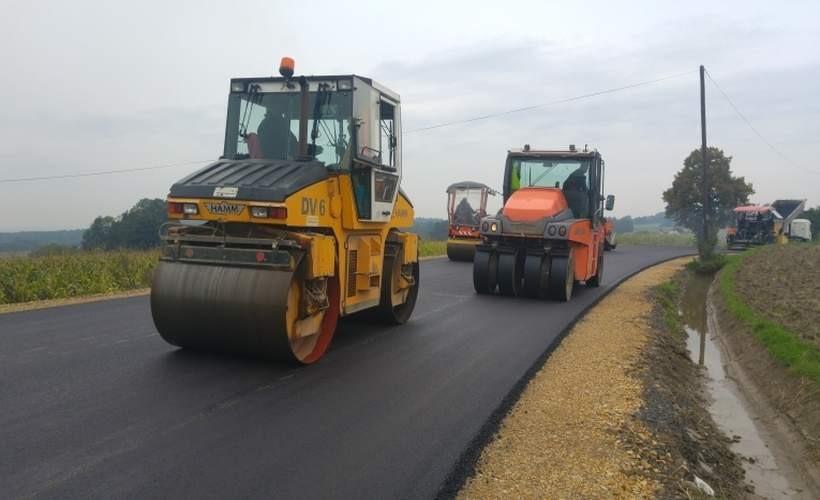 Nowy asfalt wygląda obiecująco