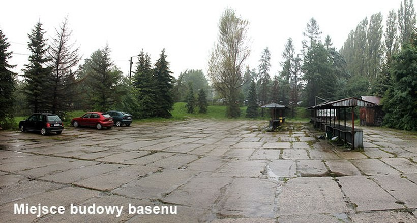 Redakcja Nowin Andrychowskich wskazała w czwartek miejsce, gdzie powstanie kryta pływalnia
