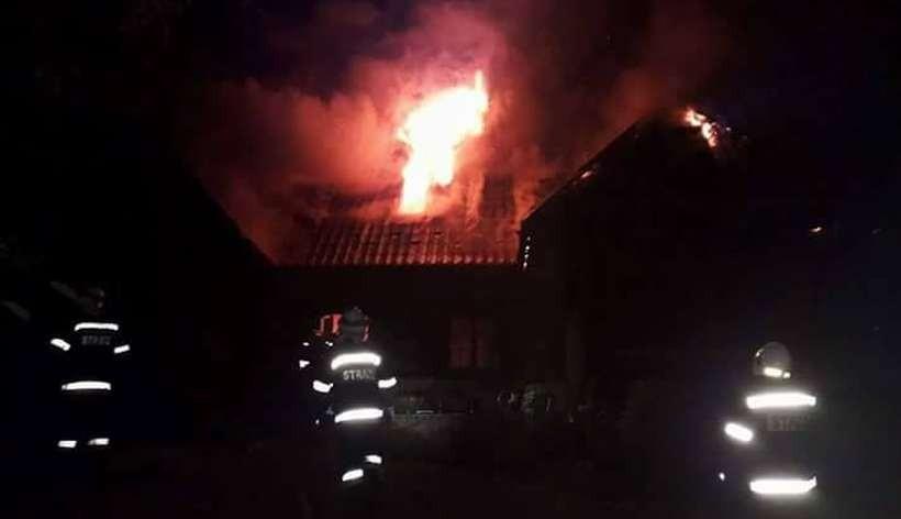 Pożar domu z Bali w Bachorowicach