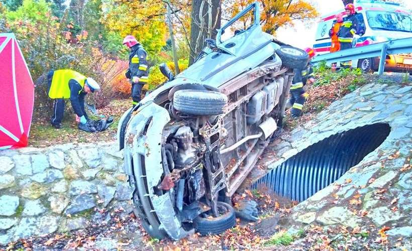 Wypadek na DK52