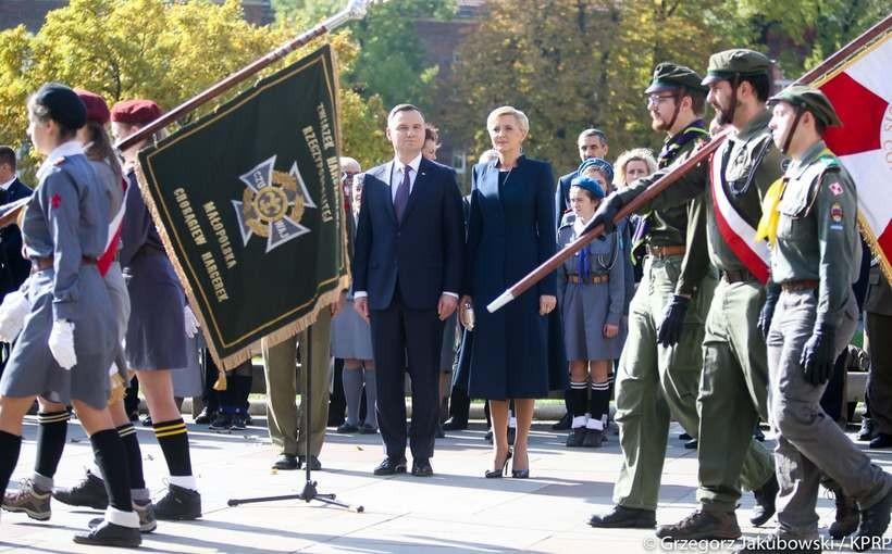 Prezydent i prezydentowa w Krakowie