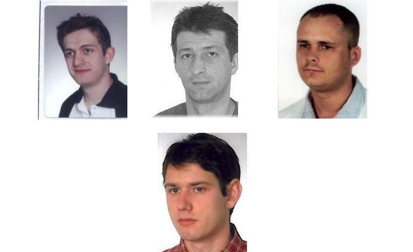 Wizerunki poszukiwanych przez policję w Wadowicach