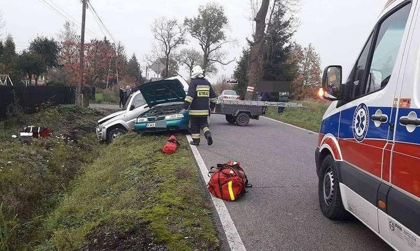 Wypadek w Brzezince