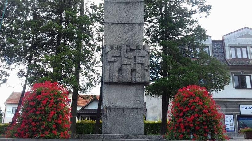 Pomnik PRL w Kalwarii Zebrzydowskiej