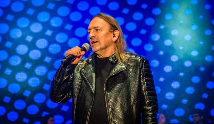 Marek Piekarczyk na koncercie w Andrychowie