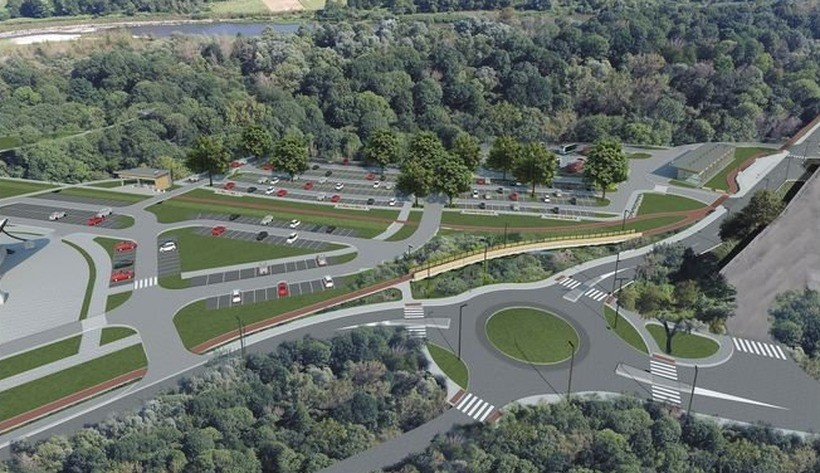 Nowa droga z parkingami ma wyglądać tak