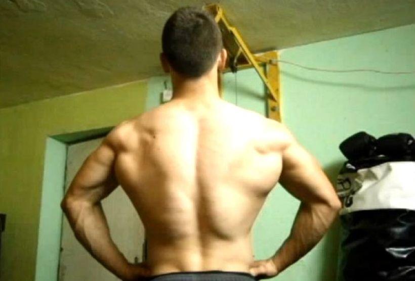 Sportowcy z Wadowic mogą teraz pochwalić się swoimi treningami, Pierwszy na publiczny trening zgodził się Michał