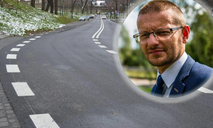 Przebudowa drogi w Kalwarii Zebrzydowskiej to już kolejna inwestycja starostwa w tej kadencji