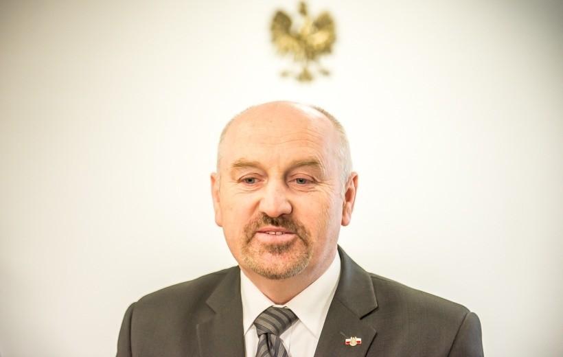 Poseł Marek Polak. Czy zostawi Warszawę dla Andrychowa?