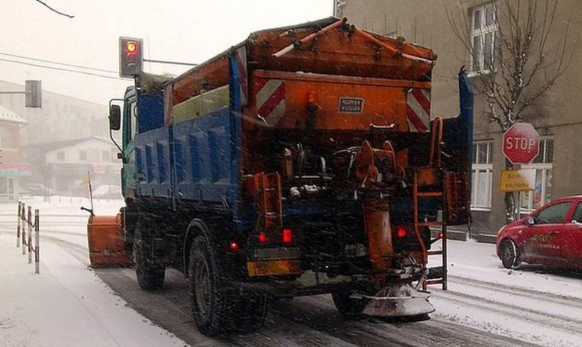 Ilustracja/Wadowice zima 2012