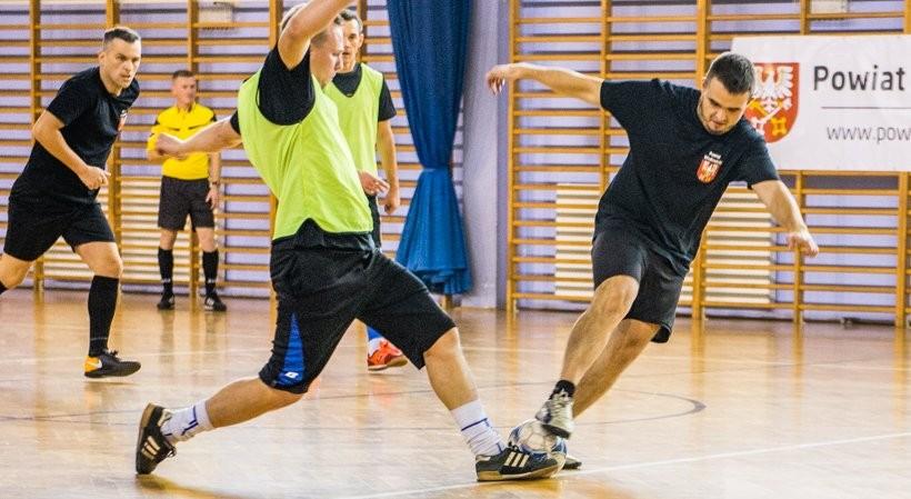 Turniej halowy w piłce nożnej w Wadowicach