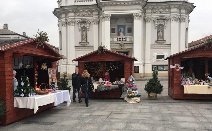 Jarmark bożonarodzeniowy w Wadowicach