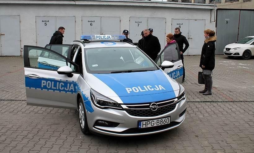 Nowy radiowóz w Andrychowie