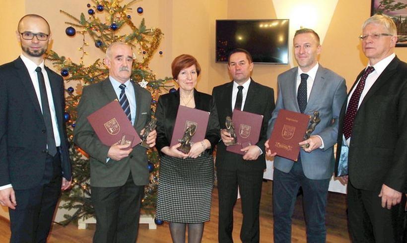 Nagrodzeni przez gminę Stryszów w 2017 roku