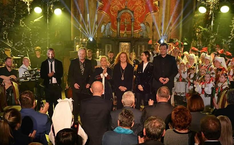 W kościele w Inwałdzie obdył sie wspaniały koncert